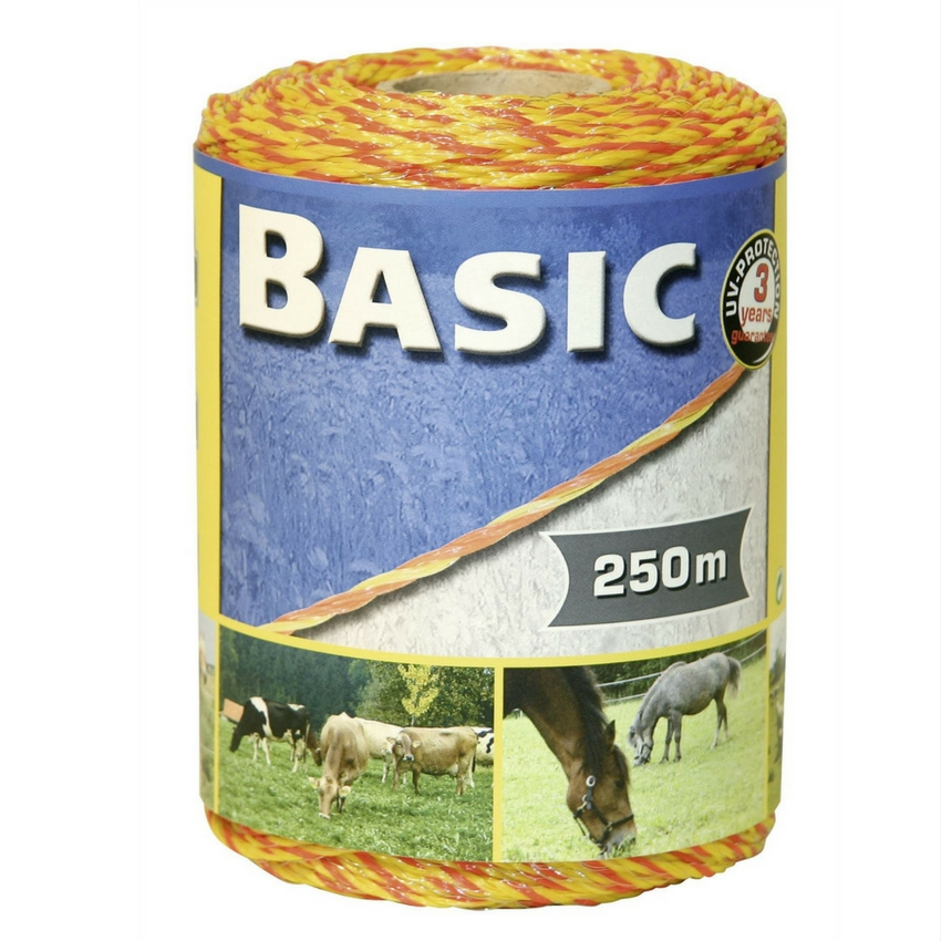 Basic Fencing Polywire Yelloworange